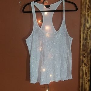 ⭐Wet Seal Sparkly tank⭐